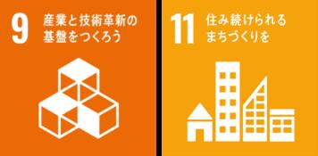 SDGs9,11
